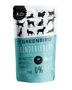 Greenbird Snack Rinderleber - 150 g