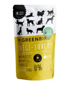 Greenbird Vegi-Snack mit CBD - 150 g