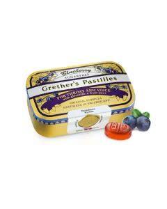 Grethers Pastillen - zuckerfrei - Blueberry - Dose 110g
