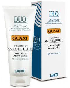 GUAM DUO Anticellulite-Massagecreme - stark wärmende Wirkung - 200ml