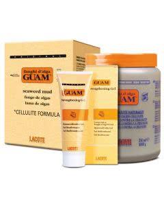 GUAM Set - Mit Gel und Guam Anti-cellulite Schlamm 1kg Dose mit 250ml Gel