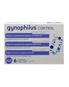 Gynophilus Control Vaginal Tabletten - 6 Stk.