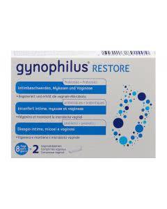 Gynophilus Restore Vaginal Tabletten - 2 Stk.