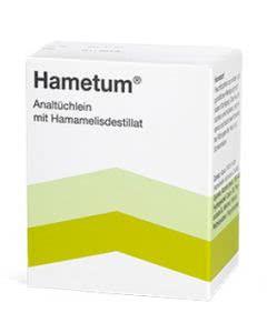 Hametum Analtüchlein mit Hamamelisdestillat - 10 Stk.