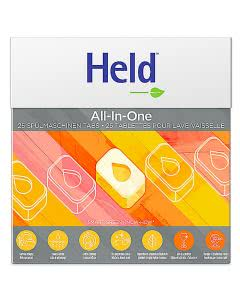 Held by Ecover Geschirrspül Tabs All One - 25 Stk. (500g)