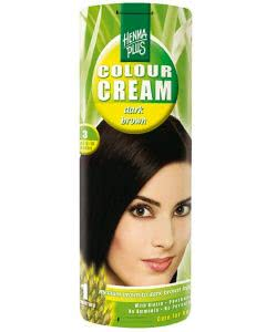 Kreson Henna Plus Colour Cream Dunkelbraun 3 - 60ml