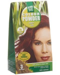 Kreson Henna Plus Long Lasting Colour Hell-Golden Braun 5.3 - 100g