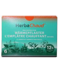 HerbaChaud - Natürliches Wärmepflaster - 6 Stk.
