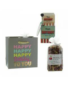 "Herboristeria Midi-Geschenktasche ""Happy Birthday"""