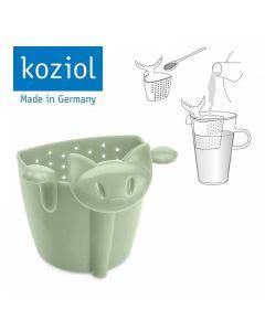 """Herboristeria Teesieb Koziol """"Katze Miaou"""" grün - 1 Stk."""