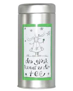 Herboristeria Das-Glück-Kommt-Zu-Dir-Tee in Aludose mit Kunst-Etikette - 70g