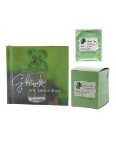 Herboristeria Tee-Set Glückstee mit kleinem Buch (Glück und Gesundheit)