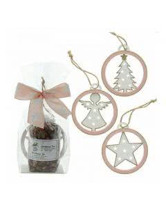 Herboristeria Geschenk-Set Christmas Tea mit Holzanhänger