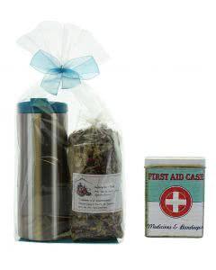 Herboristeria Wander-Tee Set mit Tee - Pflasterdose - zak! Thermobecher