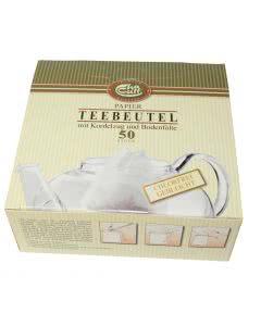 Herboristeria Tee-Papierfilter mit Kordelzug - 50 Stk.