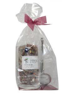 Herboristeria Geschenkset - Christmas-Tee mit Tasse Leonardo Glas und Teesieb - Loop