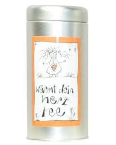Herboristeria Wärmt-Dein-Herz-Tee in Aludose mit Kunst-Etikette - 90g