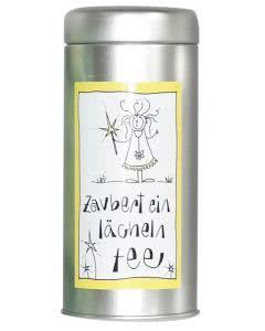 Herboristeria Zaubert-Ein-Lächeln-Tee in Aludose mit Kunst-Etikette - 100g