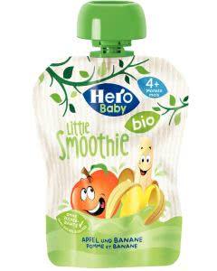 Hero Baby Little Smoothie Apfel-Banane - bio - 4x90g