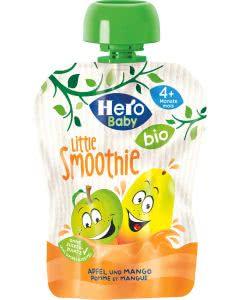 Hero Baby Little Smoothie Apfel-Mango - bio - 4x90g