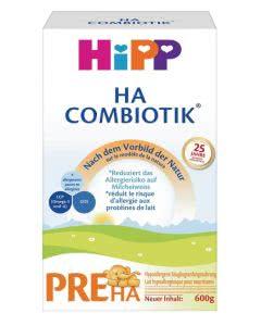 Hipp HA PRE Combiotik Säuglingsmilch - 600g