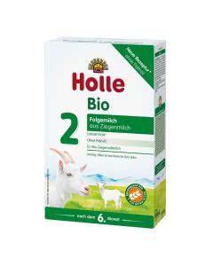 Holle Folgemilch 2 auf Ziegenmilchbasis Bio - 400g