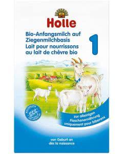 Holle Anfangsmilch 1 Ziegenmilchbasis Bio - 400g