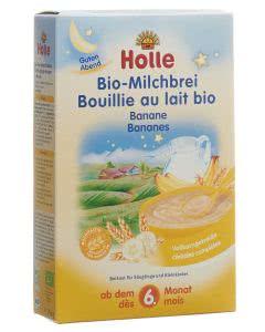 Holle Milchbrei Banane Bio - 250g