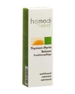 Homedi Kind Thymian-Myrthe Balsam - Brust und Rücken - 30g