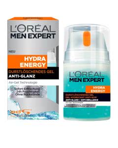 L'Oréal Men Expert Hydra Energy durstlöschendes Gel - 50ml
