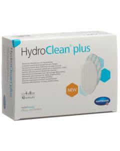 HydroClean plus Wundkissen oval - 10 Stk. à 4cm x 8cm