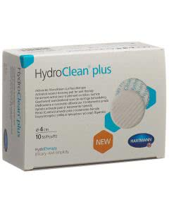 HydroClean plus Wundkissen rund - 10 Stk. à 4cm