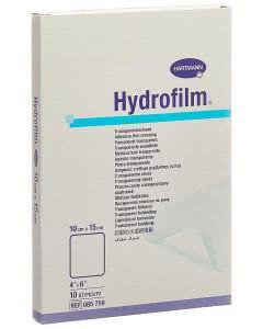 Hydrofilm Transparentverband - 10 Stk. à 10cm x 15cm