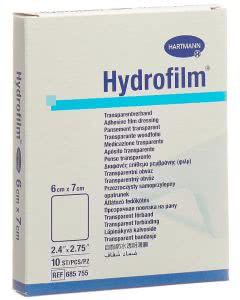 Hydrofilm Transparentverband - 10 Stk. à 6cm x 7cm