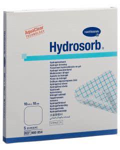 Hydrosorb Hydrogel Verband - 5 Stk. à 10cm x 10cm