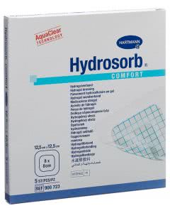 Hydrosorb Comfort Hydrogel - 5 Stk. à 12.5cm x 12.5cm
