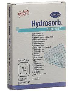 Hydrosorb Comfort Hydrogel - 5 Stk. à 4.5cm x 6.5cm