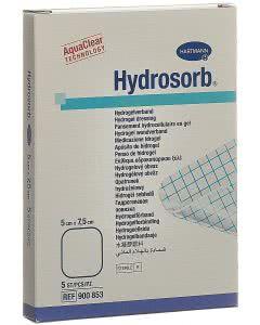 Hydrosorb Hydrogel Verband - 5 Stk. à 5cm x 7.5cm