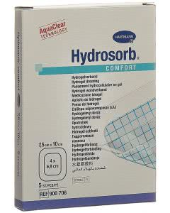 Hydrosorb Comfort Hydrogel - 5 Stk. à 7.5cm x 10cm