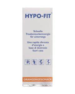 Hypo-Fit Flüssigzucker Orange Beutel - 12 Stk.