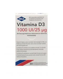 Vitamina D3 1000 I.U. Schmelzfilm - 30 Stk.