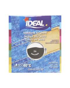 Ideal (Eswacolor) Kleiderfarben MAXI  Color No.26 JEANS schwarz für 400 - 800g Stoff