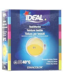 Ideal (Eswacolor) Kleiderfarben MAXI  Color No.01 gelb für 400 - 800g Stoff