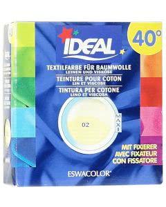 Ideal (Eswacolor) Kleiderfarben MAXI  Color No.02 citron für 400 - 800g Stoff
