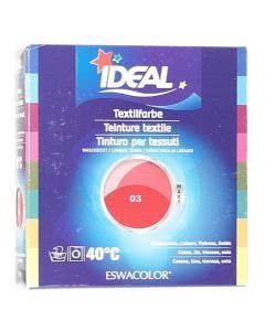Ideal (Eswacolor) Kleiderfarben MAXI  Color No.03 zinnober für 400 - 800g Stoff
