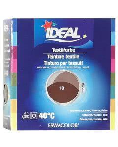 Ideal (Eswacolor) Kleiderfarben MAXI  Color No.10 schokolade für 400 - 800g Stoff