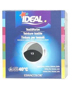 Ideal (Eswacolor) Kleiderfarben MAXI  Color No.13 schwarz für 400 - 800g Stoff