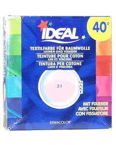 Ideal (Eswacolor) Kleiderfarben MAXI  Color No.31 rose für 400 - 800g Stoff