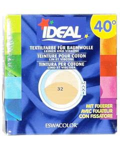 Ideal (Eswacolor) Kleiderfarben MAXI  Color No.32 beige für 400 - 800g Stoff