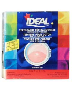 Ideal (Eswacolor) Kleiderfarben MAXI  Color No.36 korall für 400 - 800g Stoff